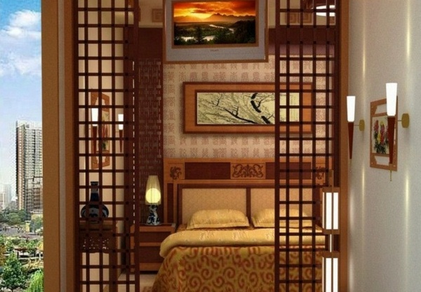 room dividers look wooden exotic and cozy