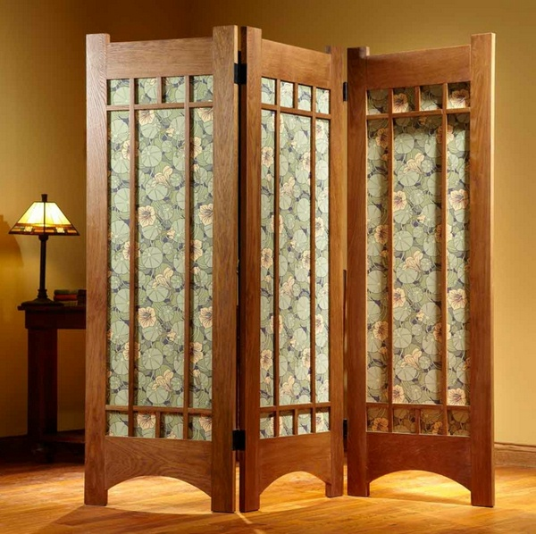 room dividers look wooden exotic and interesting