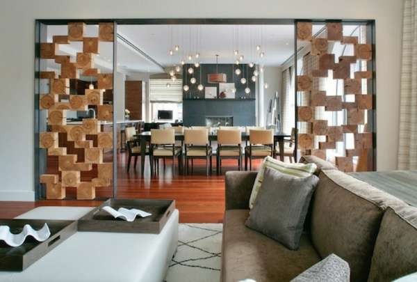 room dividers made of wood beautiful interior