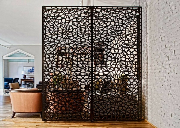 room dividers made of wood creative photo