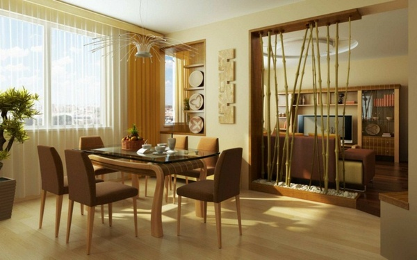 room dividers wooden cozy atmosphere