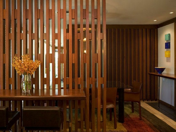room dividers wooden exotic atmosphere
