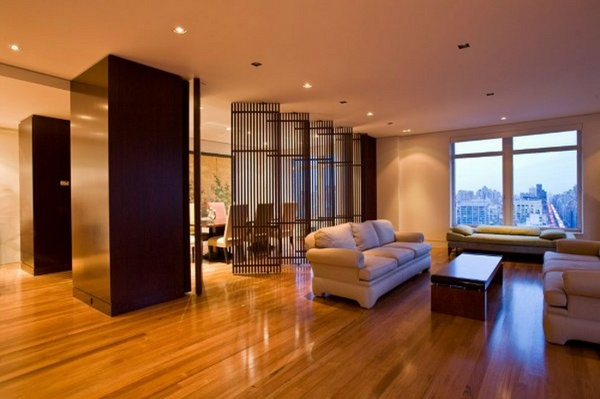 room dividers wooden modern screen at the