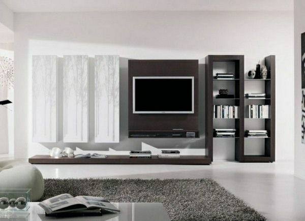 Living Room Design With Tv Set Tv Wall Panel  35 Ultra Modern Proposals  Decor10 Blog
