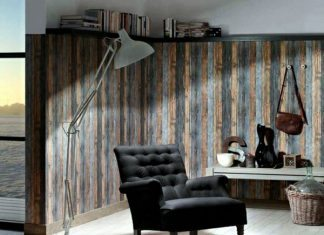 Wallpaper In Wood Finish – 24 Effective Wall Design Ideas