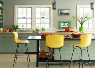What Color For Kitchen: 40 ideas For Fronts And Wall Color