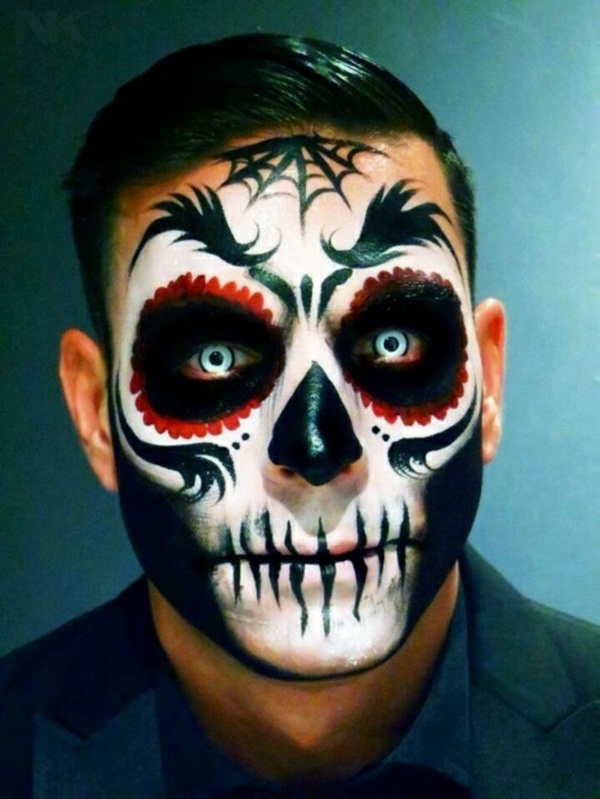 Halloween Makeup Ideas For A Horror Exciting Men Face - Decor10 Blog