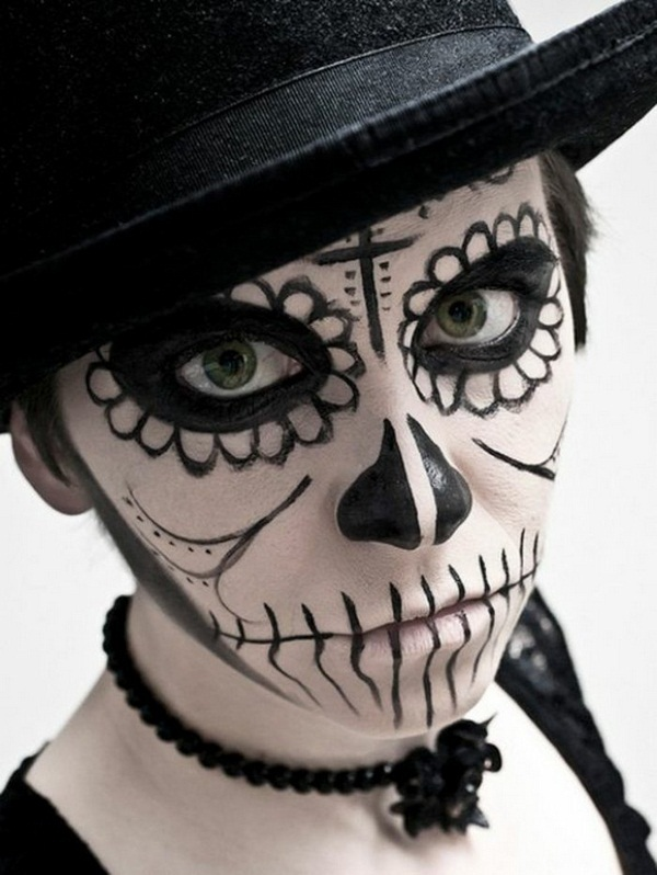 Halloween makeup ideas-halloween ideas halloweeln makeover