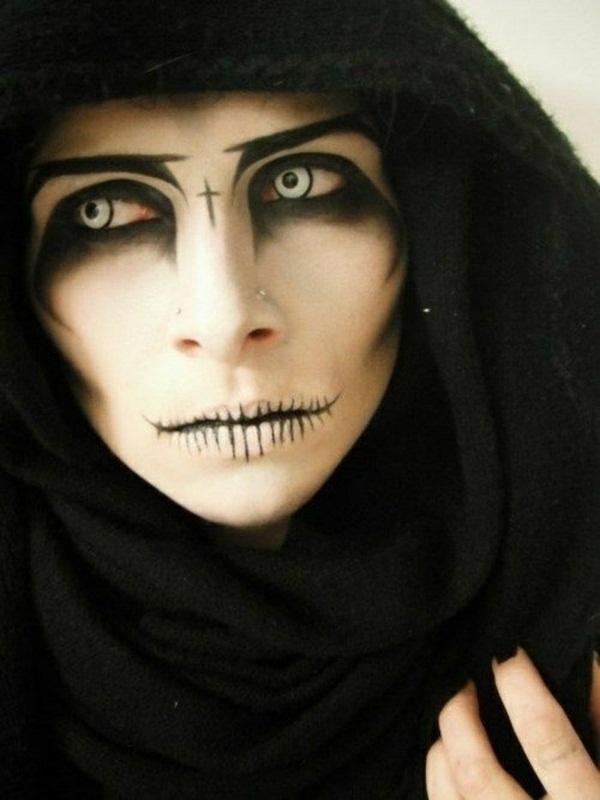 Halloween Makeup Ideas For A Horror Exciting Men Face - Decor10 Blog