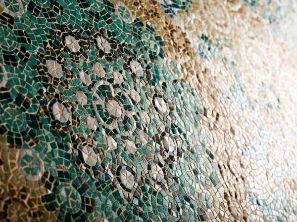 Green tiles modern mosaic ideas colors design