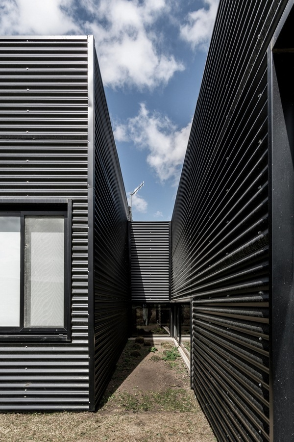 Pericles corrugated facade
