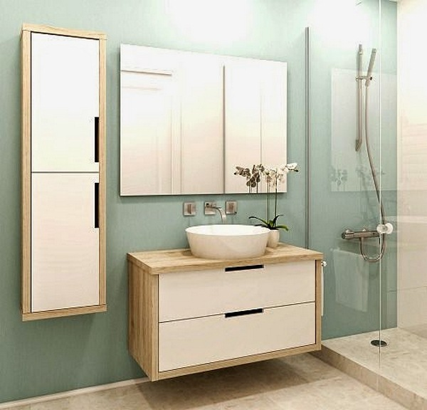 Modern bathrooms in small spaces decor10 blog - Modern bathtubs for small spaces set ...