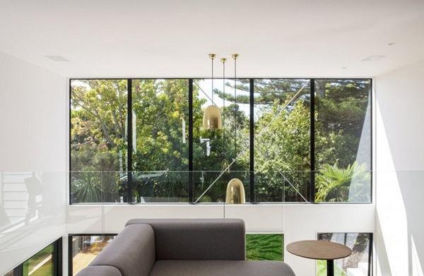 construction mezzanine living room view