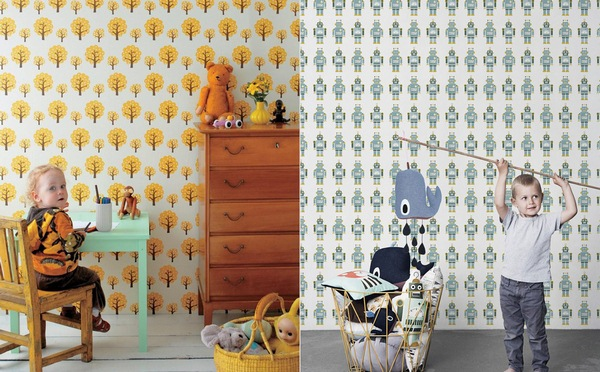 Children living wallpaper firm