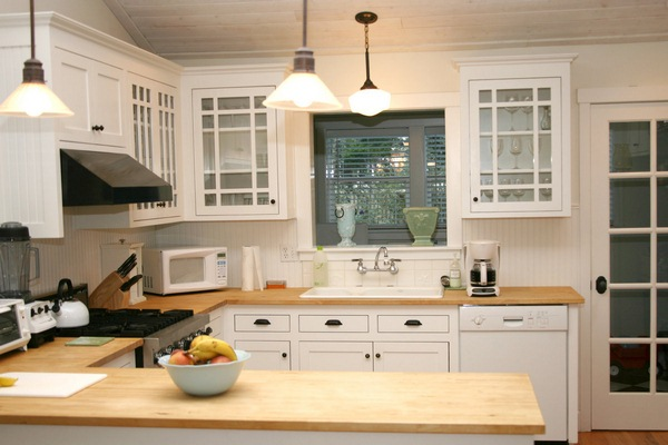 Inspiration white country kitchen