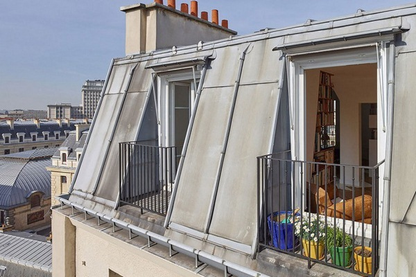 Renovation apartment roof