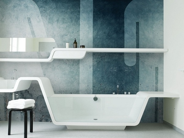 bathroom wall wallpaper &amp Deco
