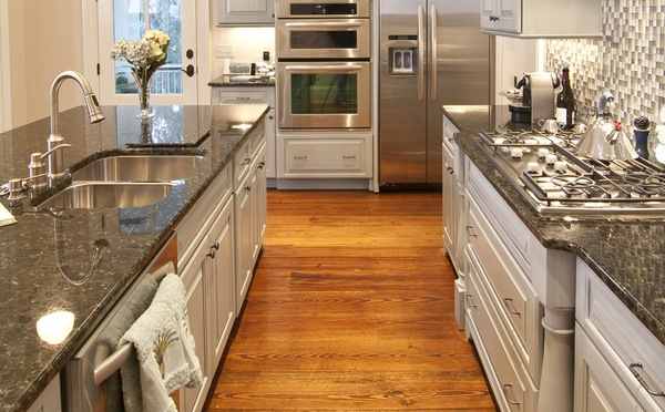 country kitchen granite