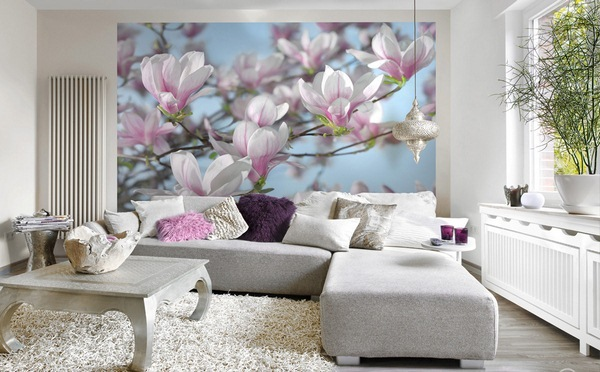 photo wallpaper floral