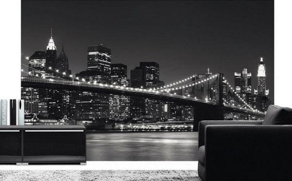 photo wallpaper new york skyline