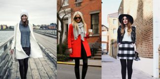 spring winter outfit fashion