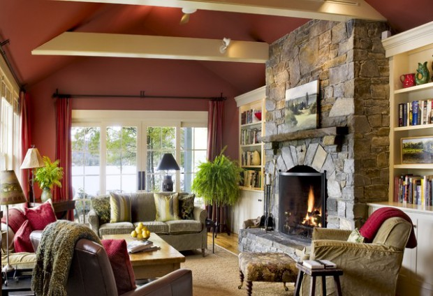 17 divine stone wall ideas for your living room decor10 blog for Living room 10 x 15