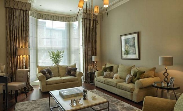 45 beige living room decoration example decor10 blog for Green and beige living room ideas