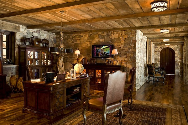 Cozy-rustic-home-office-idea