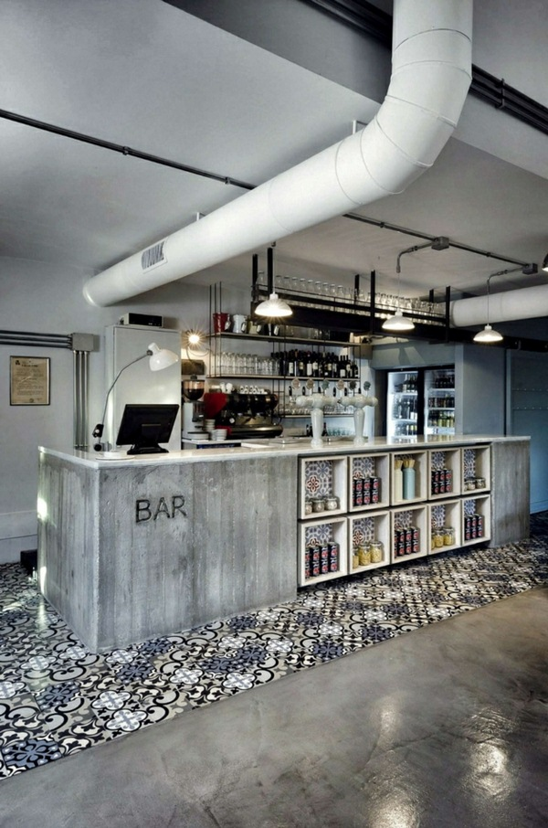 University ideas for living ideas bar counter and flooring tiles pattern pipe white