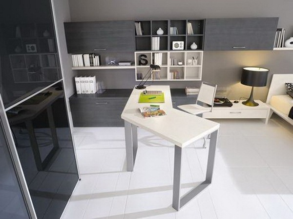 black-and-white-modern-study-room-with-creative-desk