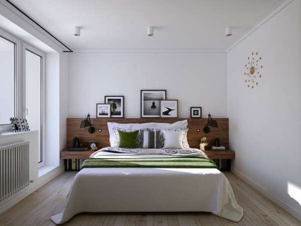 hallway floor bed headboard wood gray bedroom wall color