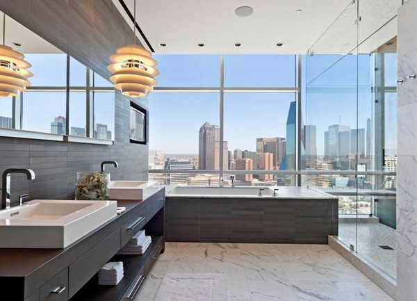 modern bathroom design shower