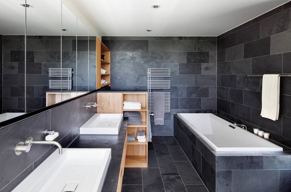 modern bathroom designs small spaces