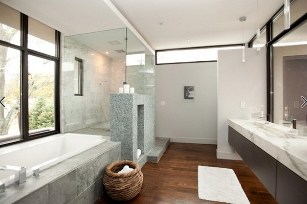 modern bathroom remodel designs