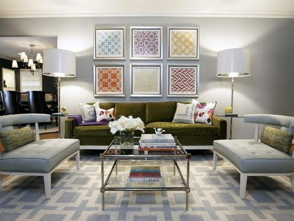 Decorating ideas living room set examples mural living