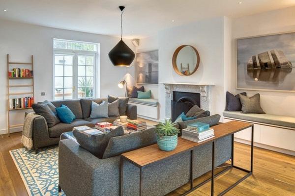 Interior design ideas living room set examples