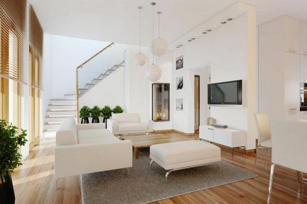 Living room wall ideas Wohnzimmerdeko Interior ideas