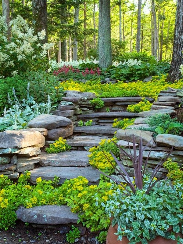 Creating garden design ideas garden make