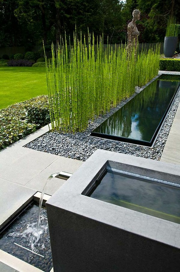 Creating garden gardening ideas make water pond