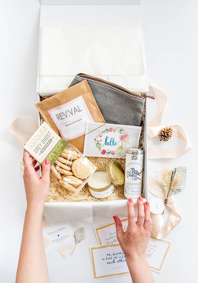 A Day-Brightening Mother's Day Gift Box Idea