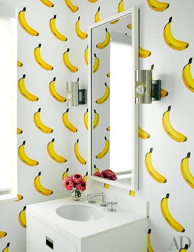 Object bathroom wallpaper4