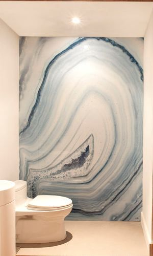 Object bathroom wallpaper6