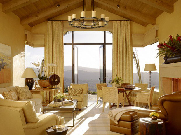 "20 Amazing Living Room Design Ideas in ""California Style"""