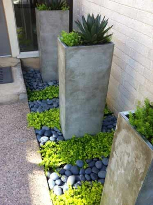 my beautiful garden concrete bucket