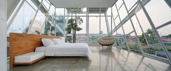 window fronts and metal stair bedrooms wood moebel