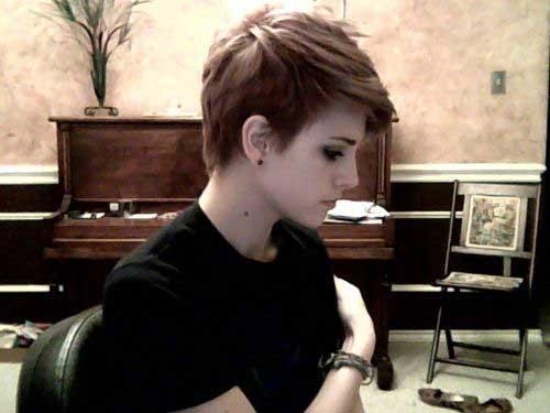 Cute Hairstyles for Short Hair-10