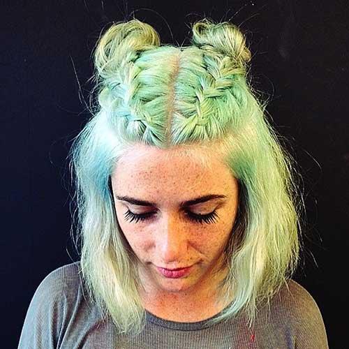Cute Hairstyles for Short Hair-40