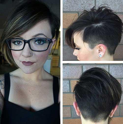 Cute Hairstyles for Short Hair-41