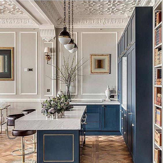 geometric molding ceiling