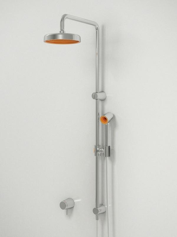 Shower holder fittings stainless steel modern bathroom ideas